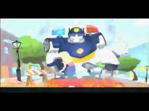 Discovery kids Transformers Rescue Bots gran estreno promo.
