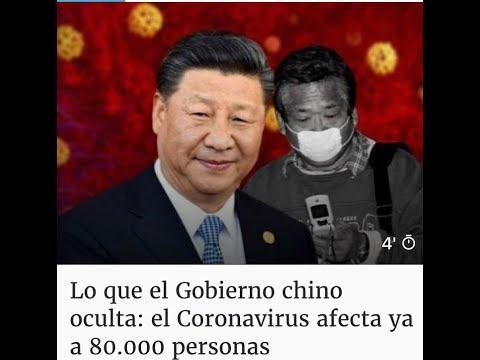 EMR: lo que el Gobierno chino oculta: el Coronavirus sin control afecta ya a 80.000 personas