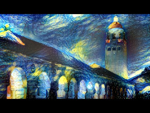 Fast style transfer deep learning
