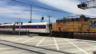 Union Pacific Fra Inspection Train, Meadowview Road Railroad Crossing