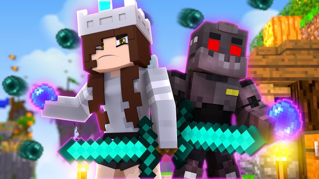 THEY HAVE TO KEEP ME ALIVE | Minecraft Speed Skywars