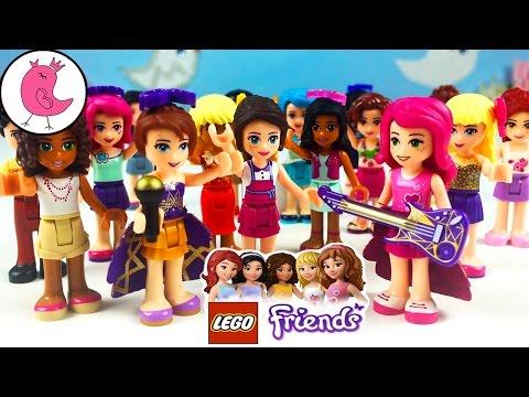ЛЕГО ФРЕНДС МИНИФИГУРКИ МОЯ КОЛЛЕКЦИЯ 2016 Lego Friends Minifigures My Collection Disney Kids Toys
