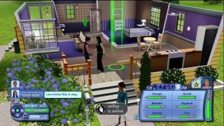The Sims 3 XBOX 360 Gameplay / Lets play part 2 (HD) - Getting started
