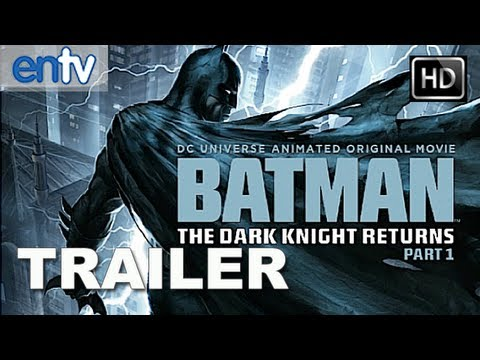 The Dark Knight Returns Part 1 Official Trailer  HD   Frank Miller s  Animated Batman Is Back! 31f6db35dc1