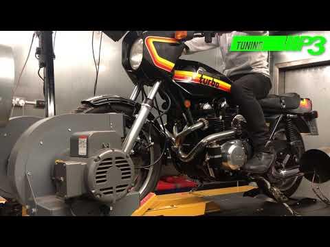 Kawasaki Z1R TC Turbo 1978 Carb And Ignition Setup P3 Tuning