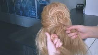 🌿  ПРИЧЕСКА на РАСПУЩЕННЫЕ волосы. Прическа на 1 сентября🌿  Easy Hairstyle 🌿  LOZNITSA