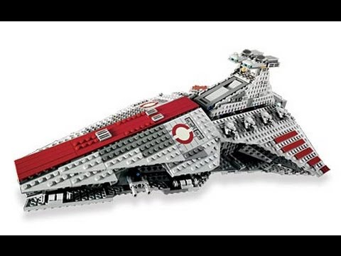 "LEGO Star Wars 8039 ""Venator-Class Republic Attack Cruiser"" Review ..."