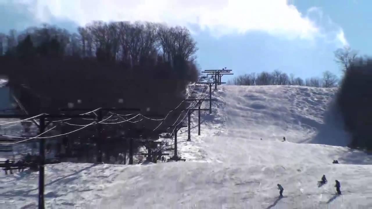 keuka college graduate students ski swain - youtube