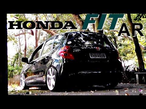 Honda Fit suspensão a Ar - Npfilms