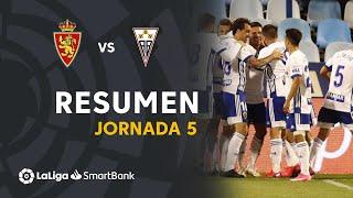 Resumen de Real Zaragoza vs Albacete BP (1-0)