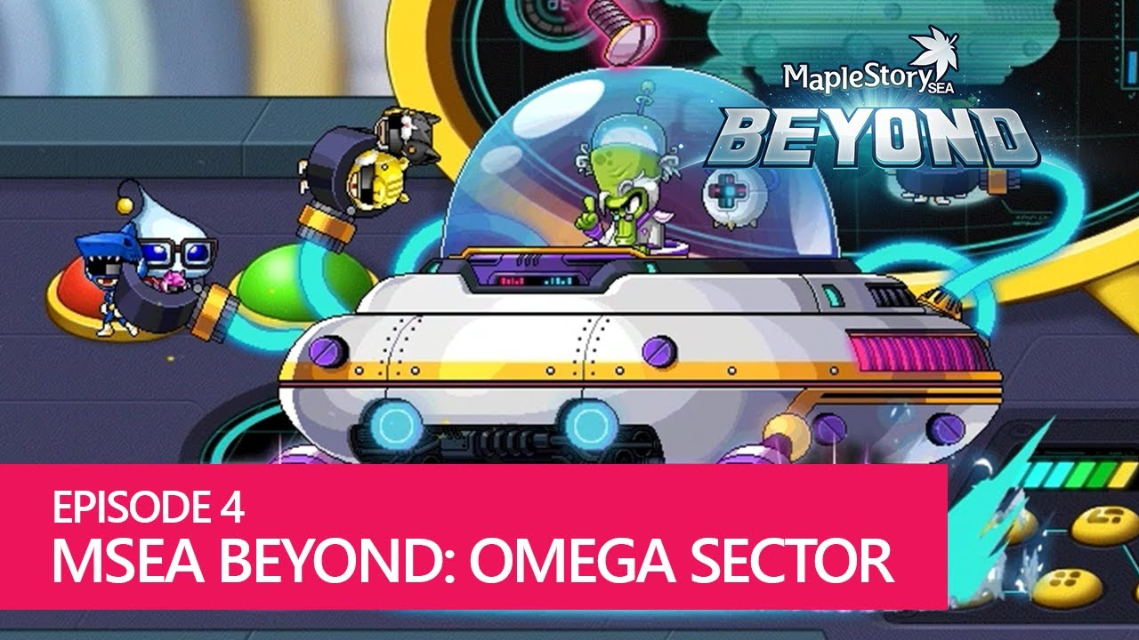 maplestorysea beyond ep 4 return of omega sector and new boss rh youtube com