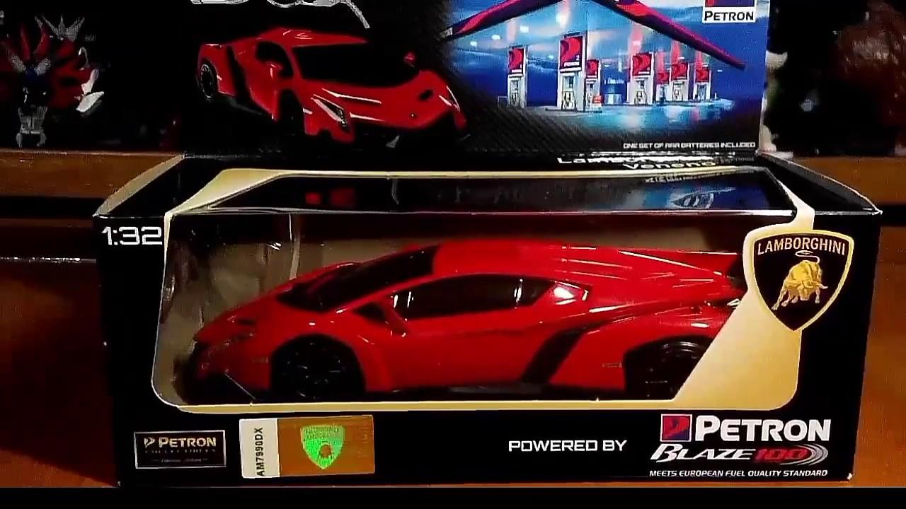 Petron Lamborghini Veneno Key To Lamborghini Toy Review