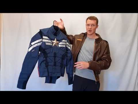Captain America Strike Suit Review Cosplay