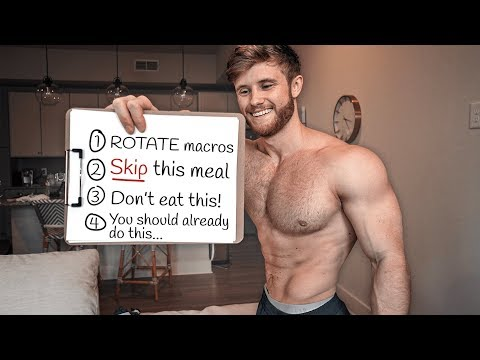 How To Get Lean Without Tracking Macros Or Dieting (Science Explained)
