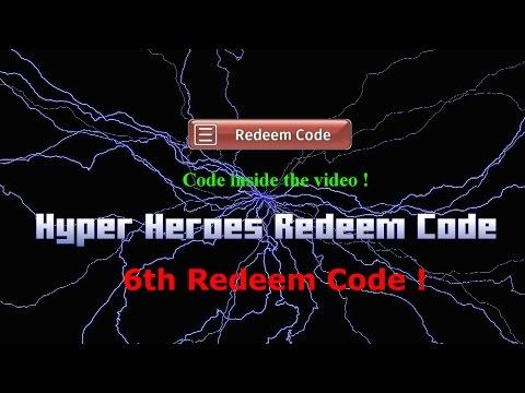 Hyper Heroes 6th Free Redeem Code