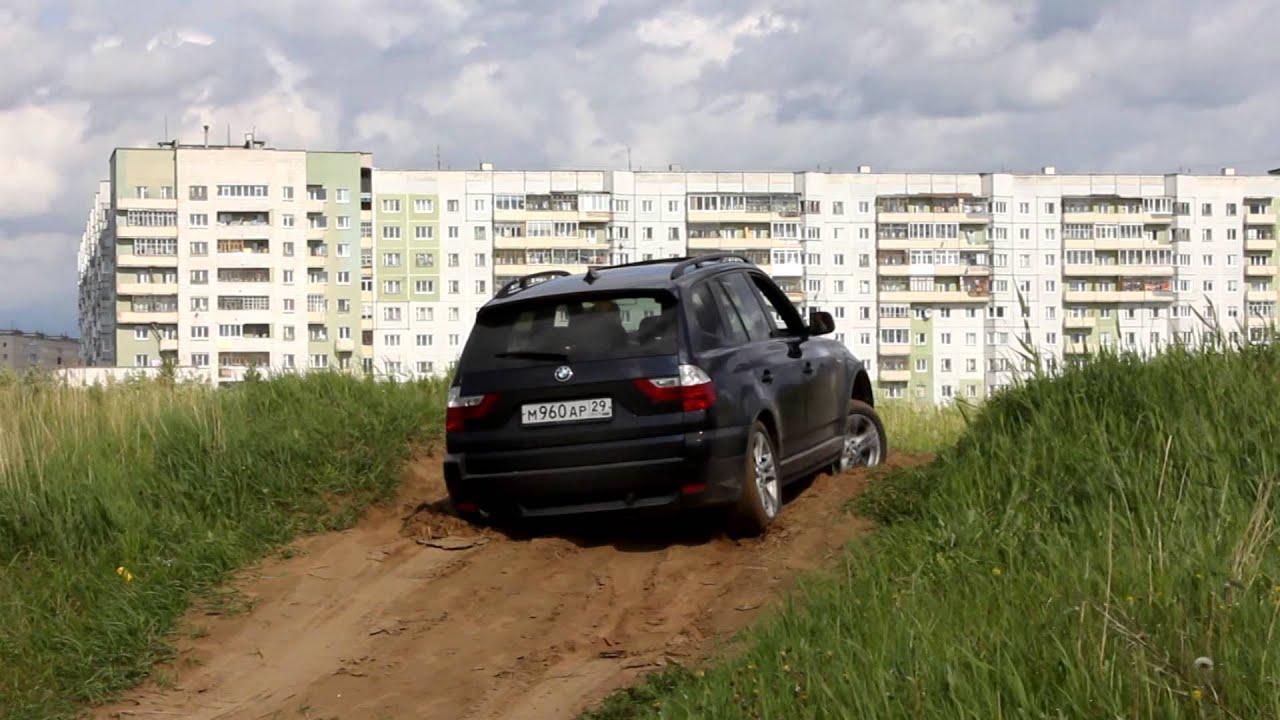 Проверка BMW X3 E83 на диагональное вывешивание.