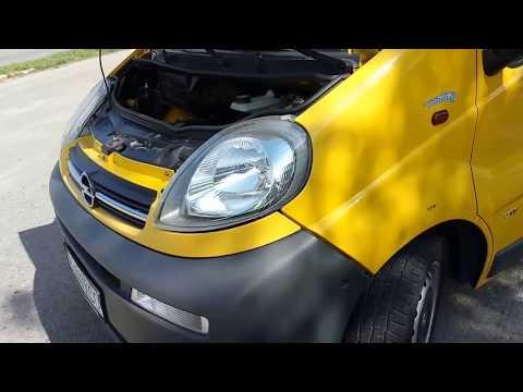 Опель Виваро состояние машины за 10 лет Opel Vivaro