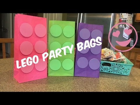 DIY Lego Party Bags