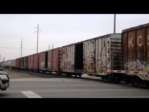 Freight train in Vinita / Oklahoma