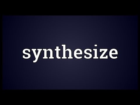 Synthesize Meaning
