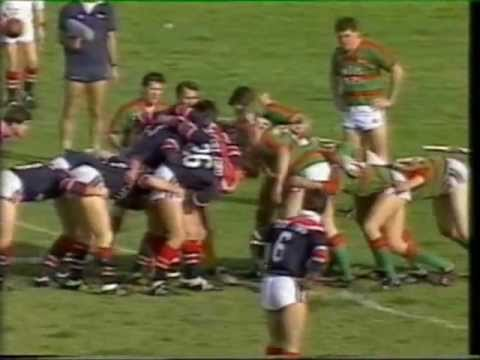 South Sydney Rabbitohs V Eastern Suburbs Roosters 1987 Henson Park