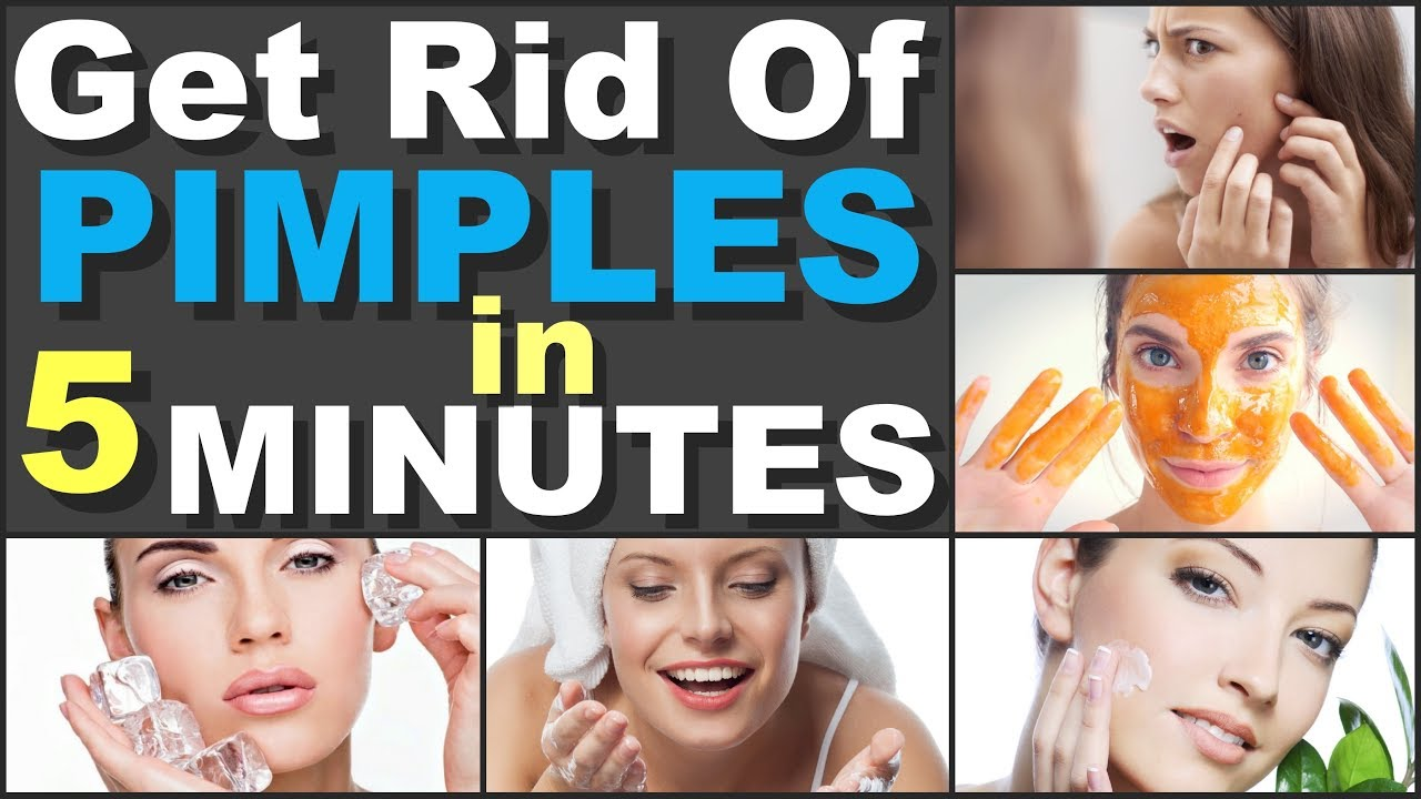 How to Get Rid of Pimples in 5 Minutes Fast With Home Remedies for Pimple