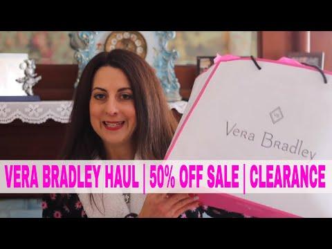 Vera Bradley Haul   50% OFF SALE   CLEARANCE