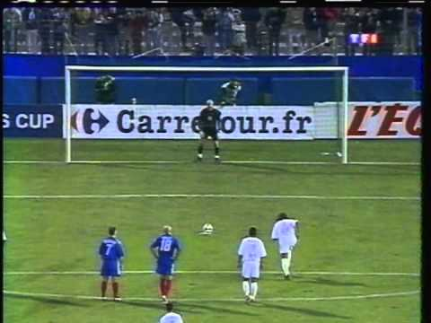 2003 (October 6) Olympique Marseille (France) 1-France '98 1 (Charity Match)