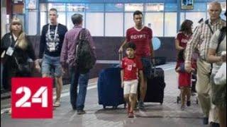 Россияне и египтяне едут в Петербург: репортаж из фанатского поезда - Россия 24