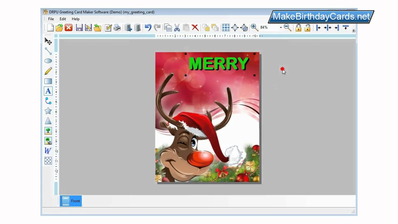 Process To Design Greeting Cards Using DRPU Card Maker Software