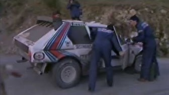 Crash Henri Toivonen and Sergio Cresto, WRC Rally Monte Carlo 1986 by Marvdogger2