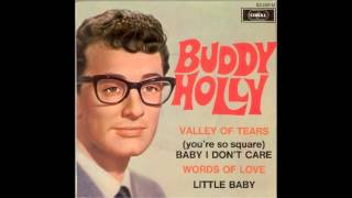Watch Buddy Holly Valley Of Tears video