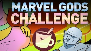 Artists Draw Mythical Marvel Characters (That They've Never Seen)