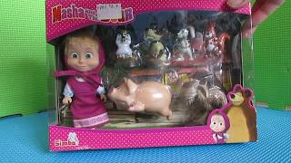 кукла Simba Masha and the Bear 9301020 обзор
