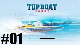GAMEPLAY TOP BOAT CORRIDA DE BARCO TOP BOAR TORNEIO CORRIDA NAVAL ANDROID #01