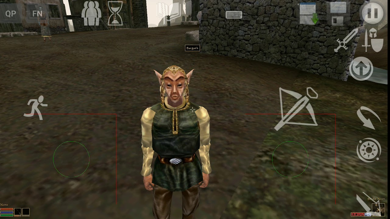 The Elder Scrolls Morrowind Running on Android!