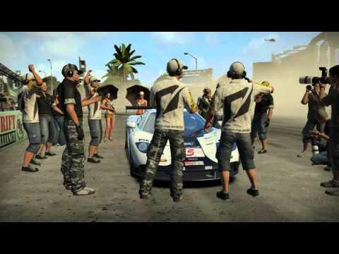 Shift 2 Unleashed - Mclaren F1 Drift Run at Miami Drift Park