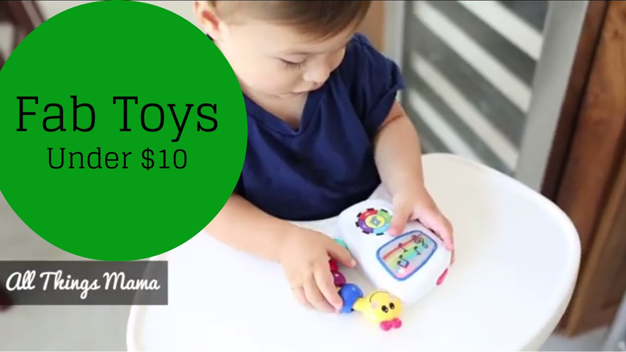 Toys For Under 1 : Fab toys under that fit in your diaper bag youtube