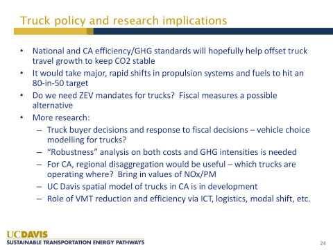 Webinar: Low-Carbon Emission Trucks