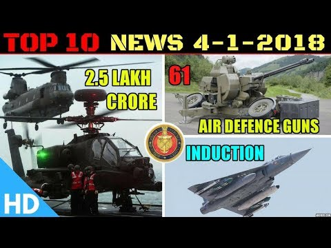 Indian Defence Updates : MoD Clears 61 Air Defence Guns,Army Gets Bulletproof Jackets,LCA Tejas
