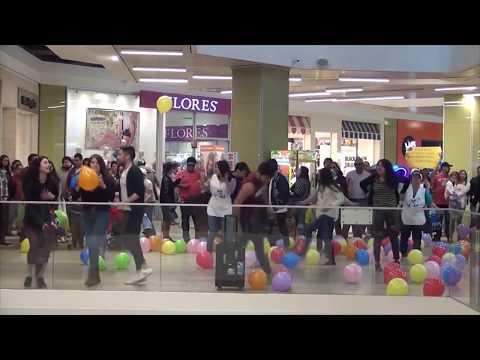 FLASHMOB REALIZADO EN MALL VIVO SAN FERNANDO CHILE 2017