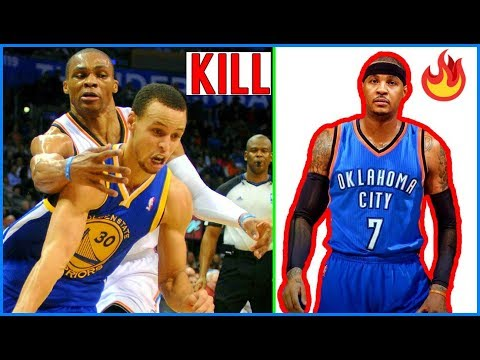 Why the Thunder are going to KILL THE WARRIORS DYNASTY!! Westbrook ROASTS Curry!!