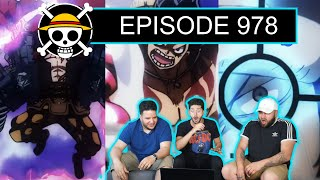 OH LE BUDGET ! ONE PIECE EPISODE 978 REACTION FR