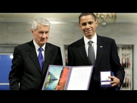 Former Nobel secretary says Obama prize was a mistake