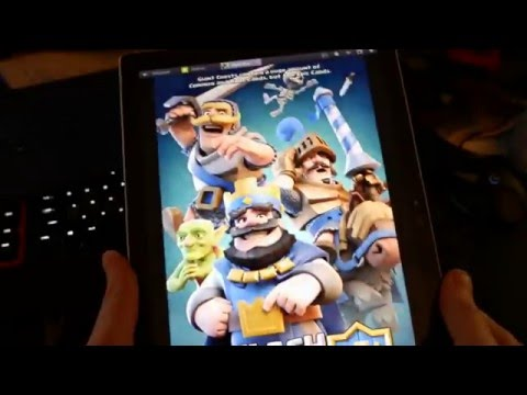 Clash Royale (using Bluestacks) on the Surface Pro 4 - Worst Idea Ever!