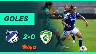 Millonarios vs La Equidad (2-0) | Liga Femenina BetPlay Dimayor - Fecha 9