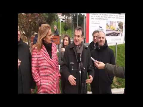 Caballero y Silva inauguran la humanización de la antigua carretera provincial