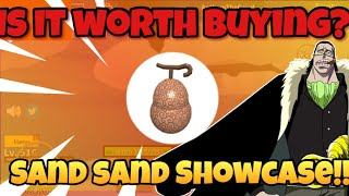 New Sand Sand Fruit Showcase! Is it worth Buying?? Blox Piece Roblox