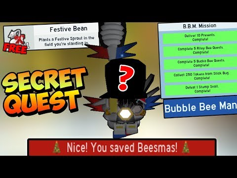 THE *SECRET* QUEST COMPLETED ( BBM QUEST )!!! - Roblox Bee Swarm Simulator
