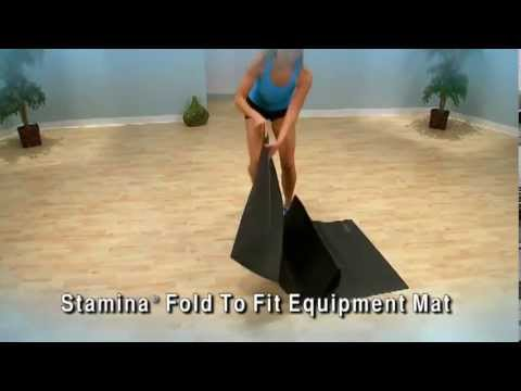 Stamina Fold-To-Fit Equipment Mat - Fitness Direct